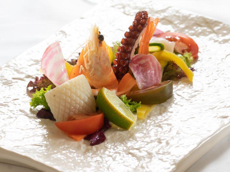 Salade de Fruits de Mer à la Napolitaine